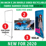 Eco Friendly P1 Banner Stand